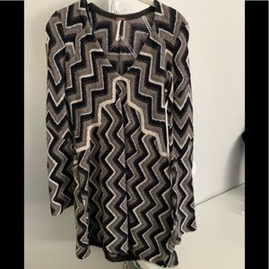 Free people sweater dress with pockets